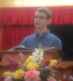 Joshua preaching 9-27-2015